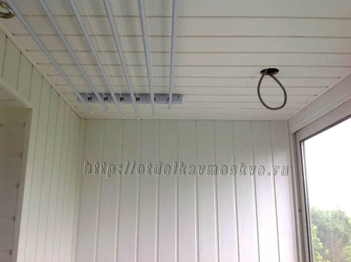 Отделка и утепление лоджий и балконов.